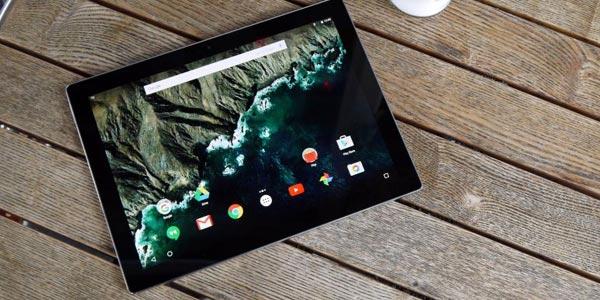 Google Pixel C reseña: aplicaciones