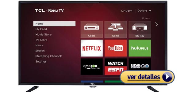 Mejores TVs LED: Serie TCL S3800 (Roku TV)