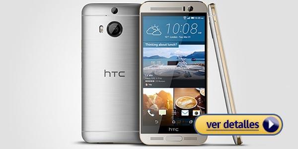 Mejores celulares con lector de huella: HTC One M9+