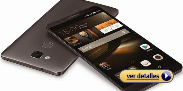 Mejores celulares con lector de huella: Huawei Honor 7