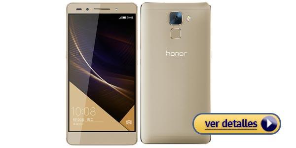 Mejores celulares con lector de huella: Huawei Honor 7i