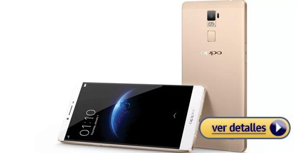Mejores celulares con lector de huella: Oppo R7 Plus