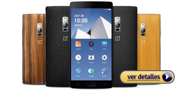 d59835eb2d468 Mejores celulares con lector de huella dactilar  OnePlus 2