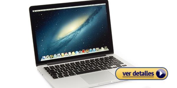 Mejores laptops apple apple macbook pro de 13 pulgadas con pantalla de retina