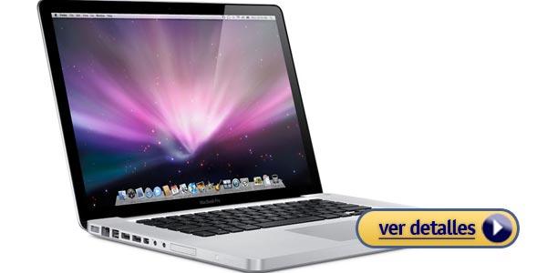 Mejores laptops apple macbook pro de 15 pulgadas con pantalla de retina