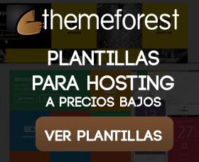 Mejores plantillas wordpress para hosting