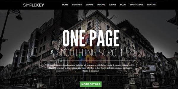 Mejores temas wordpress html5 simplekey