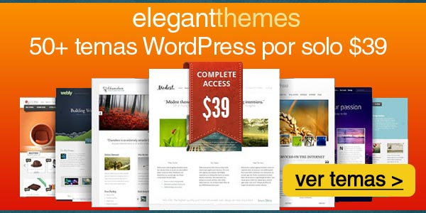 Mejores temas wordpress html5 por un solo precio