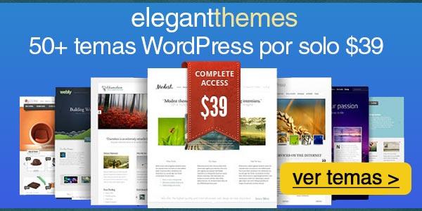 Mejores temas WordPress de una página que SÍ debes tener