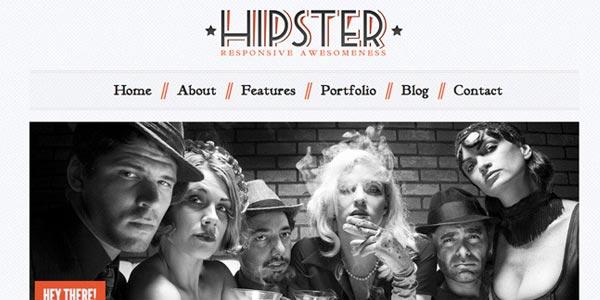 Plantillas wordpress html5 hipster