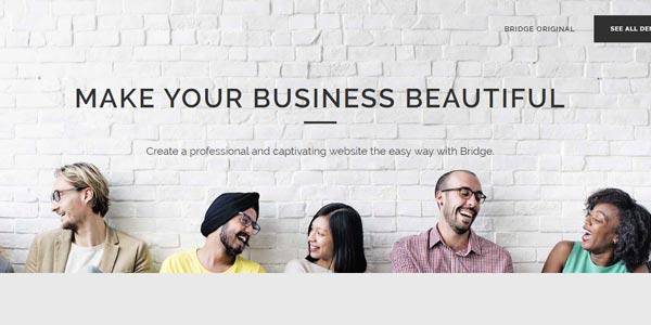 Plantillas WordPress responsive: Bridge