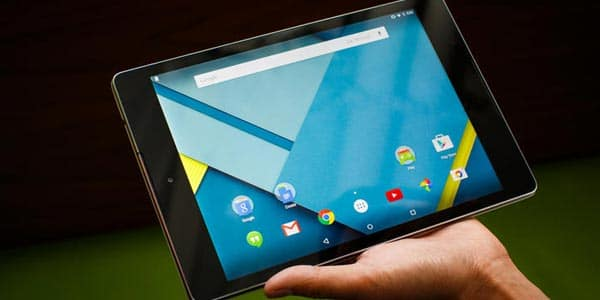 Tableta Google Nexus 9 análisis: Pantalla