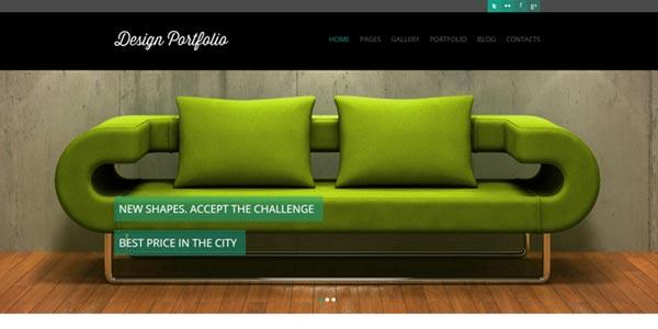 Temas wordpress html5 design portfolio