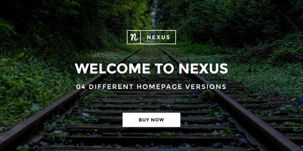 Temas wordpress html5 nexus