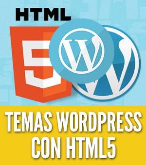 Temas wordpress html5