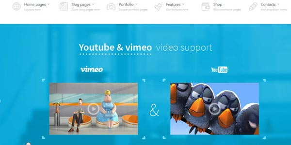 Mejores temas WordPress para videos y Youtubers