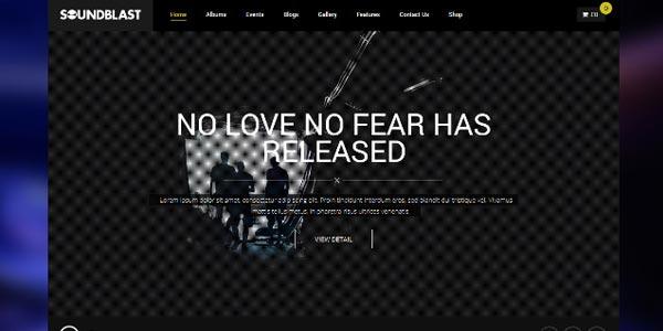 Temas WordPress para música, bands y DJs recomendados