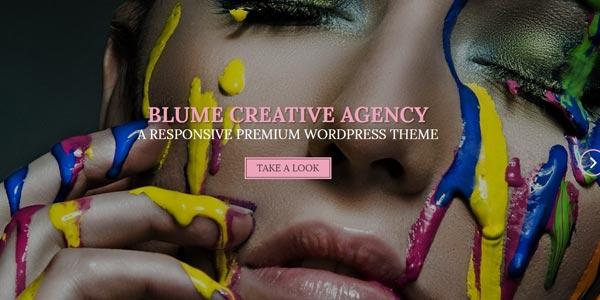 Temas WordPress responsive: Blume