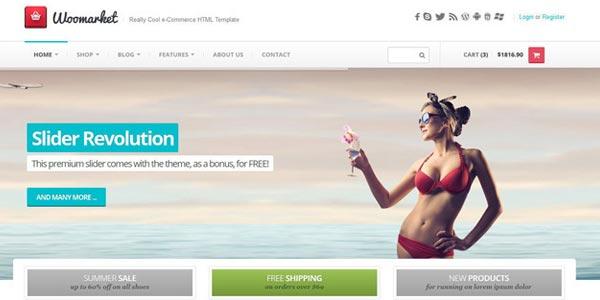 Temas WordPress responsive: Webmarket