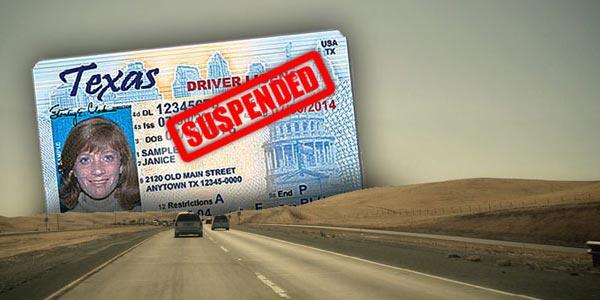 Es posible arreglar una licencia suspendida