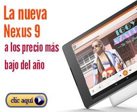 google nexus 9 precio
