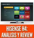 Hisense h4 precio analisis review