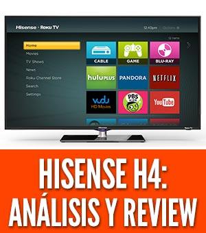 Análisis de la serie Hisense H8G Quantum (65H8G)