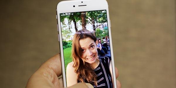 iPhone 6s o iPhone 6s Plus: Live Photos