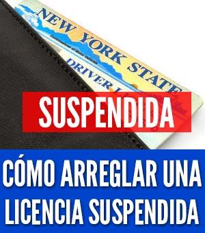 Licencia ha sidlicencia ha sido suspendidao suspendida