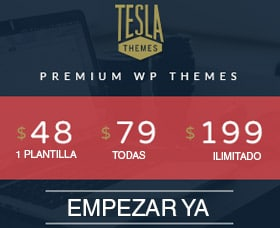 mejores plantillas wordpress responsive tesla themes