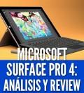 microsoft surface pro 4 análisis precio