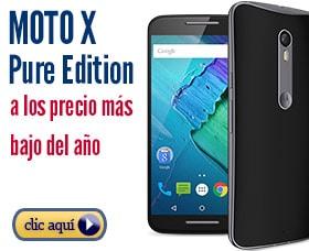 Moto x pure edition precio analisis