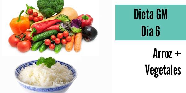 Dieta gm dia 6