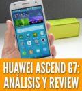 Huawei Ascend G7 reseña: Diseño