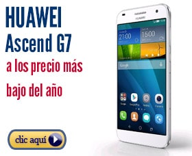 Huawei ascend g7 precio analisis