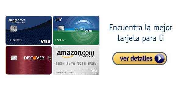 Lo que mas nos gusta de la tarjeta de credito amazon