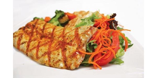 Mejor almuerzo para diabeticos pescado y vegetales a la parrilla