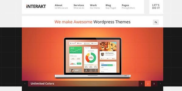 Temas WordPress creativos y profesionales MUY efectivos