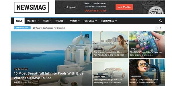 Mejores temas wordpress para seo newsmag