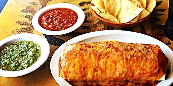 Peor almuerzo para diabeticos chips salsa burrito