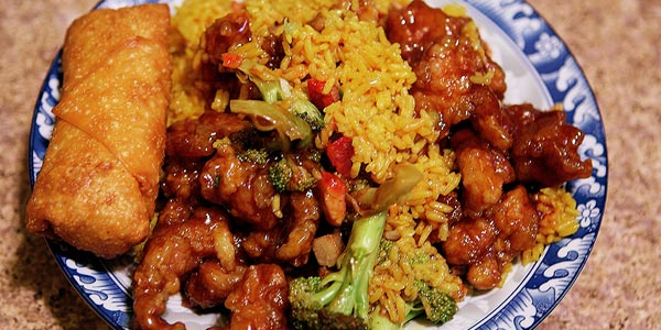 Peor cena para diabeticos combo de comida china