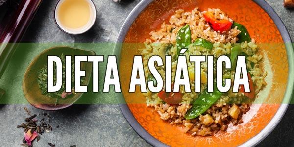 Perder peso rapido y saludable dieta asiatica