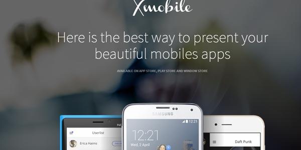 Plantillas wordpress para marketing y paginas de aterrizaje xmobile