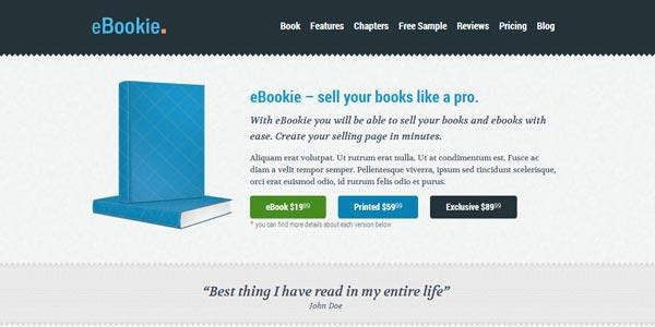 Plantillas wordpress para ventas online ebookie