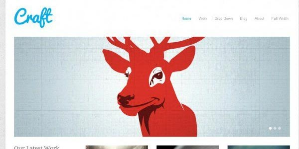 Temas wordpress creativos craft