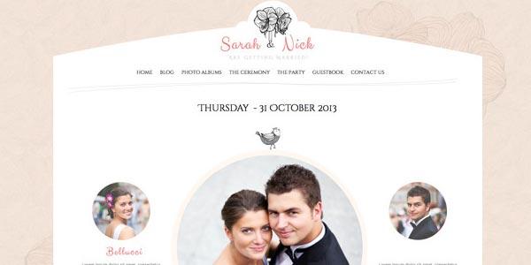 Tema Matrimonio Wordpress : Temas wordpress para bodas que realmente te encantarán