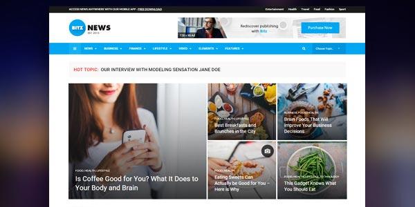 Mejores temas WordPress para revistas y periódicos en línea