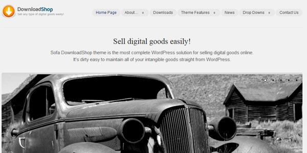 Temas wordpress para ventas de libros downloadshop