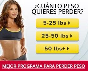 Como perder peso rápido cuanto peso quieres perder