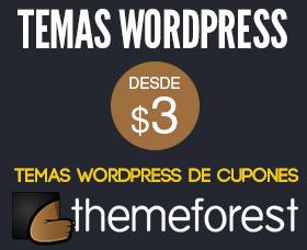 Plantillas de cupones wordpress themeforest